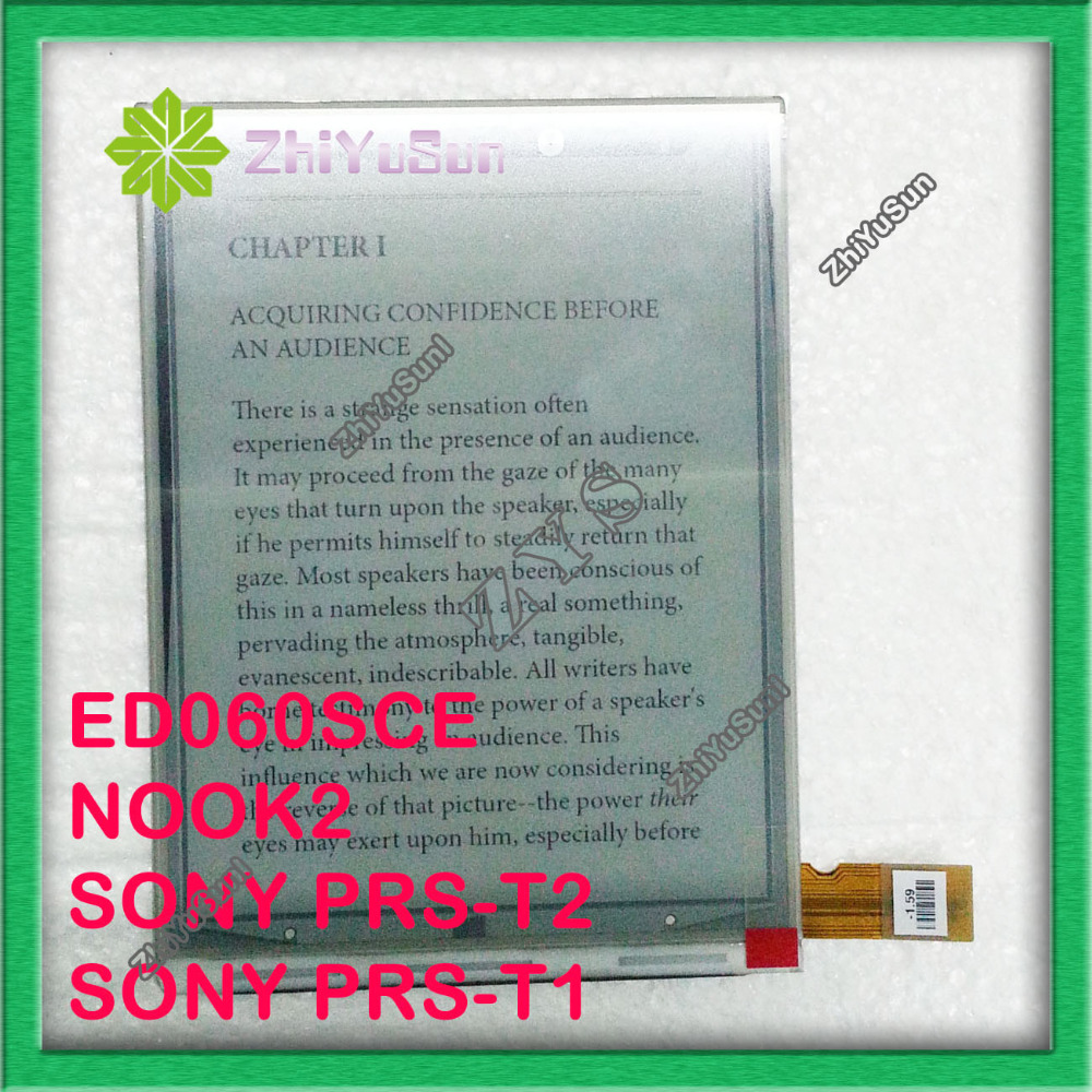 PVI 6 inch ED060SCE ED060SCE(LF)T1 Eink display for NOOK2 SONY PRS-T2 SONY PRS-T1,ebook display ebook screen epaper LCD 6screen<br>