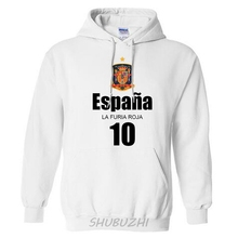 Spain nation team hoodiesmen sweatshirt sweat new streetwear socceres jersey footballer tracksuit Spanish fleece 2017 ES ESP(China)