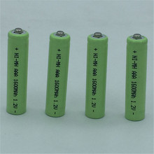 10pcs/lot AAA Rechargeable Battery 1600mAh 3A Neutral Battery Ni-MH 1.2V Rechargeable battery for toys cameragreen Free Shipping