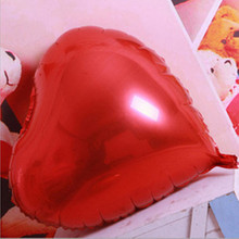 24 inch multicolor heart shape foil balloons wedding party decoration love balloon Wedding ballons anniversary supplies