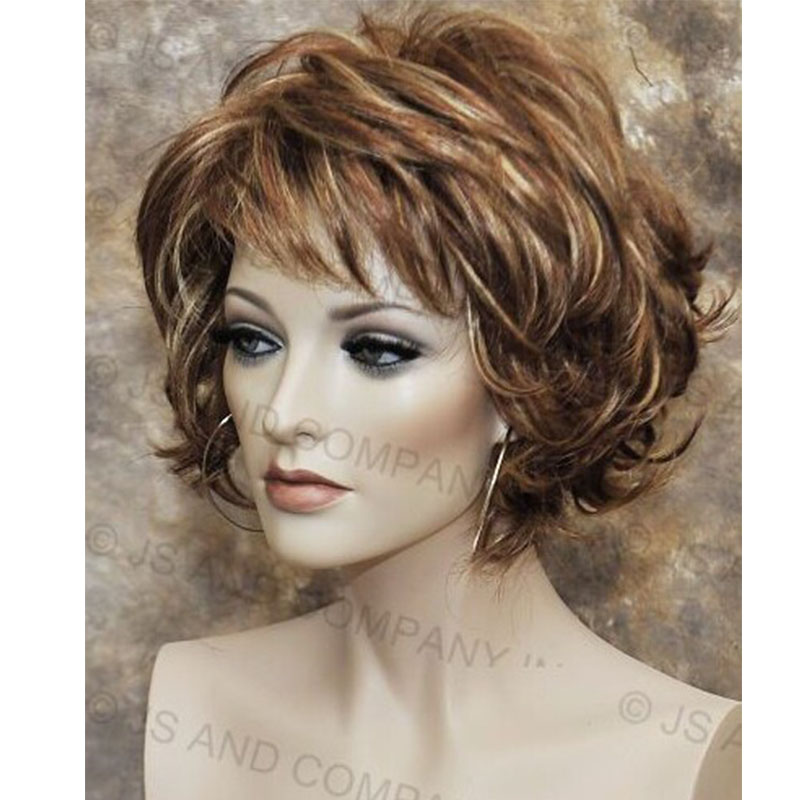2017 Classy And Chic Everyday Multiple Layers Hair Mix Color (Mult Color ) Capless Synthetic Hair Wigs<br><br>Aliexpress