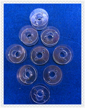 Household Sewing Machine Bobbin,Transparent Plastic Bobbins,10Pcs/Lot,With Height 10.93 mm&OD 20.48mm,For Singer,Brother,Acme...