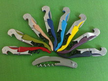 Waiter's Wine Tool Bottle Opener Sea Horse Corkscrew Knife Pulltap Double Hinged Corkscrew ,100pcs Free DHL/Fedex