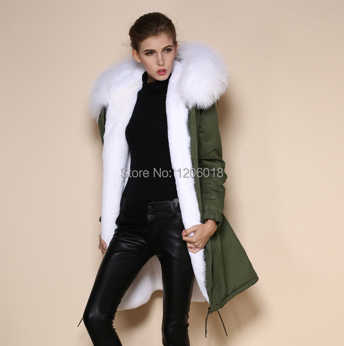 Faux Fur Green Coat Promotion-Shop for Promotional Faux Fur Green ...