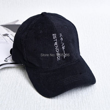 2017 NEW Hhigh Quality Man Woman Cotton Boys Girls RunHat Fashion Baseball Cap Sunshade Sunhat Snapback Casquette Corduroy Caps