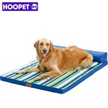 Blue Striped Design Square Bed Sofa for Big Dogs Cats All Season Washable Large Sofa Bed for 30-90Kg Dog Cat Pet Goods Supplies