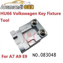HU66 Key Jaw Fixture Parts For Volkswagen Car Key Clamp Replacement hu66 Key clamp For Sec E9/X6/V8/A9/A7 key cutting machine
