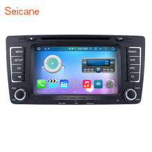 Android 6.0 Radio GPS DVD Player for 2009-2013 Skoda Octavia Support Bluetooth Music 1080P Video USB DVR OBD2 Backup Camera WIFI