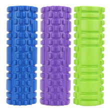 3 Colors Floating Point Fitness Gym Exercises EVA Yoga Foam Roller For Physiotherapy Massage Pilates Tight Muscles