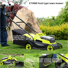 ET1408 24 V Electric Lawnmowers /Hands Push-type Grass Cutter/Cordless Lawnmowers 320MM Cutting length 3850r/min Push Lawn Mower(China)