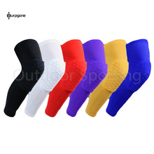 Honeycomb Gym Basketball Crashproof Sports Knee Leg Support Brace Tape Guard Pads Strap Wrap Exercise Injury Protection Support