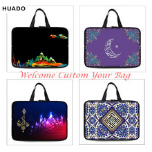 Neoprene laptop bag Sleeve Muslim image 7 10 12 13 14 15 15.6 17 17.4 Inch Universal Tablet Bag Case Notebook Computer Cover