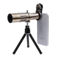 Buy Universal 20X Zoom Telephoto Manual Focus Phone Camera Lens Kit HD Telescopic Optical Lens Tripod iPhone Samsung Xiaomi for $26.68 in AliExpress store