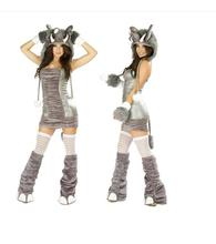 High Quality 2017 New Sexy Elephant Costume Halloween Furry Costumes for women Animal Costume Cosplay(China)