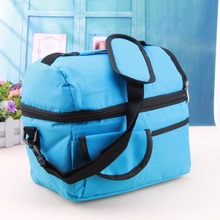 8L Square Thermal Bag Women Men Lunch Bag Cooler Beam Port Lunch Box Lady Handbag Children Kids Lunch Bags Insulation Package