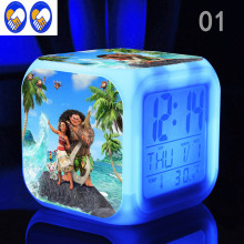 A Toy A Dream Kids Gifts Moana Adventure Mo Ahna Mona Princess Doll Gift Anime Toy Figures Led alarm clock Toys for Children