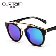 Fashion Women Cat Eye Sunglasses Brand Designer Classic Retro Glasses UV400 shade eyewear glass vintage goggle sunglass uv400(China)
