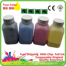 Buy Refill Color Laser Toner Powder Kits + Chips Canon IMAGECLASS C-3500 C86 HP Laserjet Pro 5500 5550 H9730A Q9730A Printer for $21.08 in AliExpress store