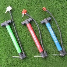 1Pc Mini Portable Bicycle Tire Pump Aluminum Alloy Bike Hand Pump Outdoor Bicycle Accessories Color At Random