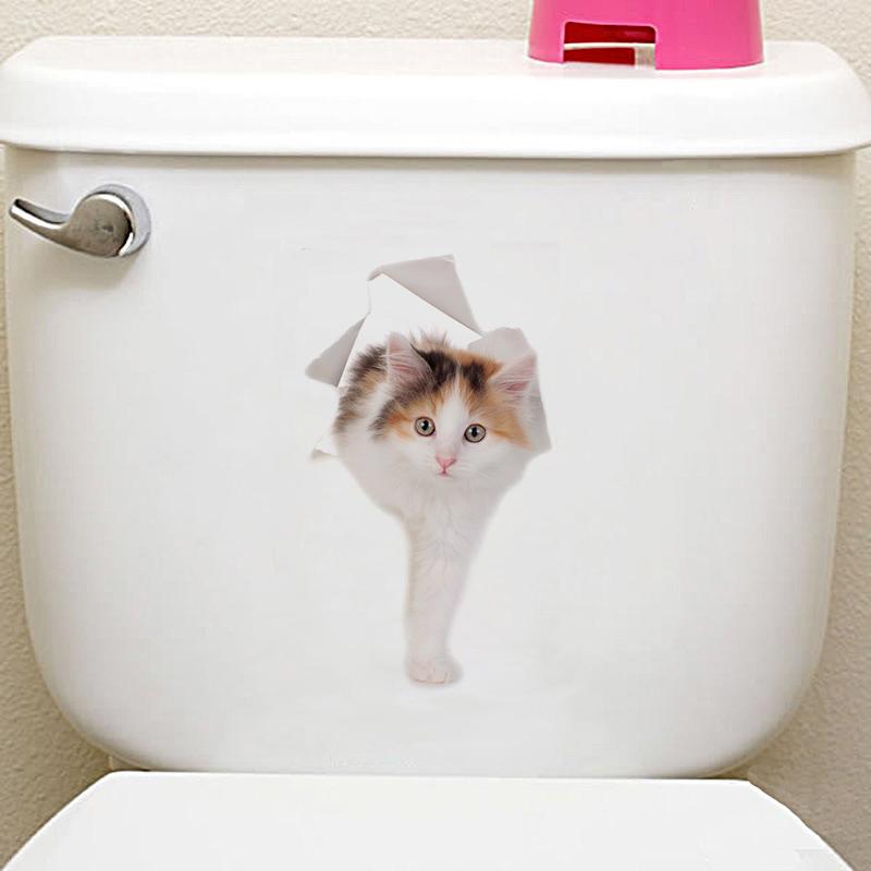 3d cats hamster wall sticker for bathroom 3D Cats Hamster Wall Sticker For Bathroom HTB1URGfX25TBuNjSspcq6znGFXa8