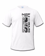 2017 Latest Men Fashion Brand Clothing Summer Cotton New Zealand 2018 World  'All Whites' T-Shirt cool Tee Shirts