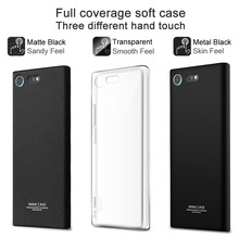 IMAK Surrounded Protection Case for Sony Xperia XZ Premium Soft TPU Cover for Sony XZ Premium G8141 G8142 Full Cover Matte Case(China)