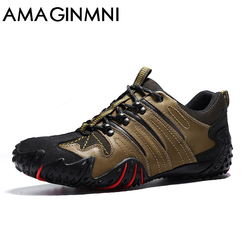 AMAGINMNI Brand 2017 Outdoor Men Shoes Comfortable Casual Shoes Men Fashion Breathable Flats For Men Trainers zapatos hombre <br>