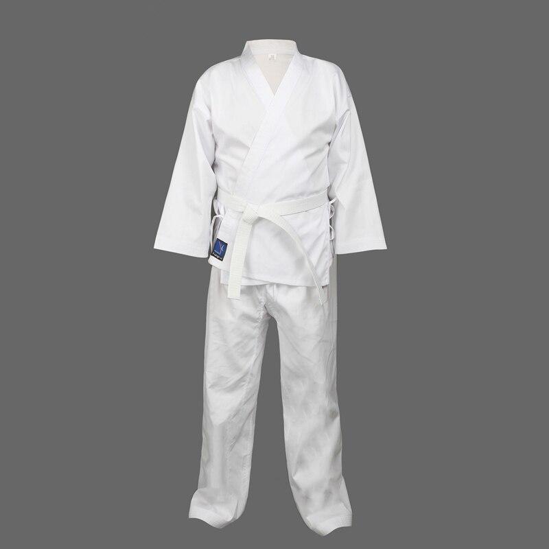 Качество ребенок взрослый каратэ равномерной костюм WTF Добок Таэквондо kick boxing MMA боевые искусства одежда добок 55% хлопок кимоно(China)