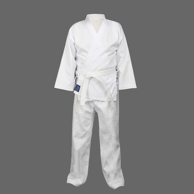 Quality Dobok child adult karate uniform suit WTF Taekwondo kick boxing MMA Martial art training clothes dobok 55%cotton kimono<br><br>Aliexpress