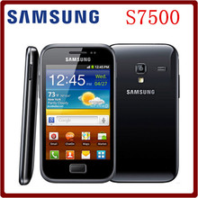 S7500 Original Unlocked Samsung Galaxy Ace Plus S7500 5MP 512MB RAM+2GB ROM 3.65`` Android OS GPS WIFI Smartphone Free Shipping(China)