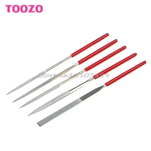5Pcs/Set Needle Files Kit Carving Jewelry Diamond Glass Stone Wood Tool #G205M# Best Quality