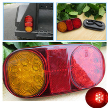 Brand New 14 LED Truck Car Trailer Boat Caravan Rear Tail Light Stop Lamp Taillight Quality Assured Wholesale