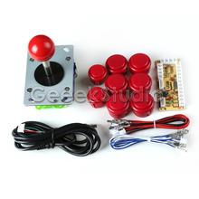 Buy 1 Player Arcade Game Machine DIY Parts JAMMA MAME & RetroPie: Zero Delay USB Encoder+Joysticks+Push Buttons+Cables for $18.99 in AliExpress store