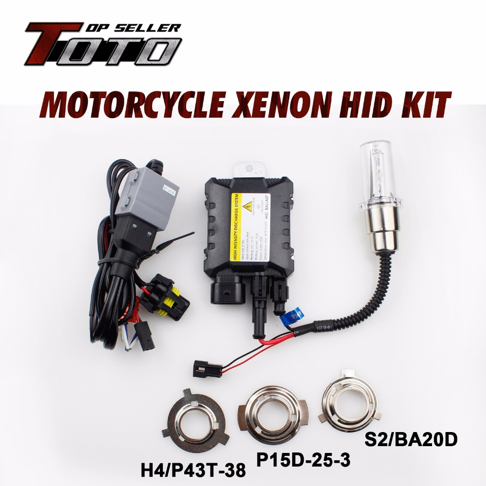 Car-Styling Super Bright!! HID Xenon Headlight Motorcycle 4300K~12000K Moto HID Kit Lights Ballast Suzuki 1992-2009