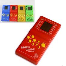 New Tetris Brick Game Handheld Game Machine kids Game Machine with Game Music Playback Best Gift for Children High Quality(China)
