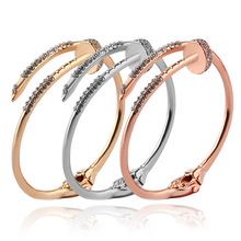 Fashion jewelry Fashion new nail bracelet jewelry Women jewelry three color optional