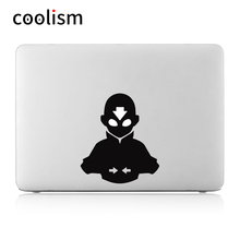 "The Last Airbender Avatar Anime Computer Laptop Decal Sticker for MacBook Air/Pro/Retina 11"" 12"" 13"" 15"" Cover Skin on Notebook(China)"
