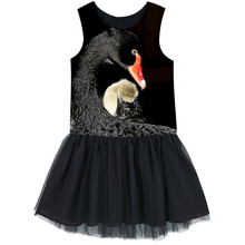 Kids Ballerina Ballet Dance Party Yarn nice dress Clothes Children The black swan dresses baby  dresses Girls Tulle dress
