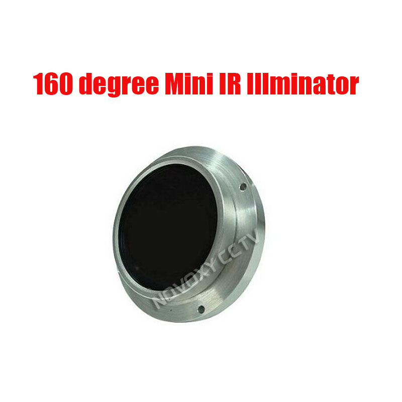 Free Shipping 15 square meters 160 degree LED Lamp IR Illuminator for CCTV Camera Night Application<br>