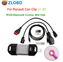 DHL Free Newest Version V1.65 Renault Can Clip multi-Langauges For Renault Can Clip Diagnostic Interface Can Clip v1.65 Hot Sale