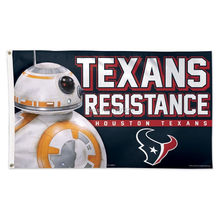 HOUSTON TEXANS STAR WARS BB-8 COWBOYS RESISTANCE Outdoor Banner Flag 3X5 Custom Football Hockey Any Flag(China)