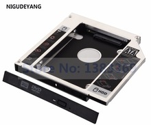 NIGUDEYANG 2nd SATA 12.7mm hard drive SSD HDD Caddy Adapter For HP ProBook 4520s 4525s 4720s 4730s GT31L