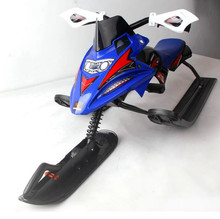 Christmas Gift steel material suitable for adults and children with brake max loading 80kgs motor Snow Racer/snow sled