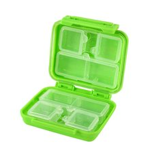 Hot Selling 1 Pcs Portable 8 Cells Pocket Pill Medicine Box Storage Case Organizer Factory Price MTY3 New Arrive