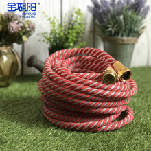 HU YANG PLASTIC Free Shipping New Arrival 15m Red Nylon Garden Water Hose Pipe for Clean Bathroom\Car Washing\Water Flower Seeds