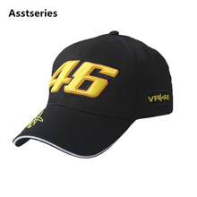 2017 New F1 Racing Cap Car Motocycle Racing MOTO GP VR 46 Rossi Embroidery Brand Hiphop Cotton Trucker Baseball Cap Hat(China)