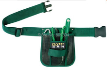 Free Shipping Fasite waist waterproof 600D Oxford gardening toolkit  tool bag organizer tools bags