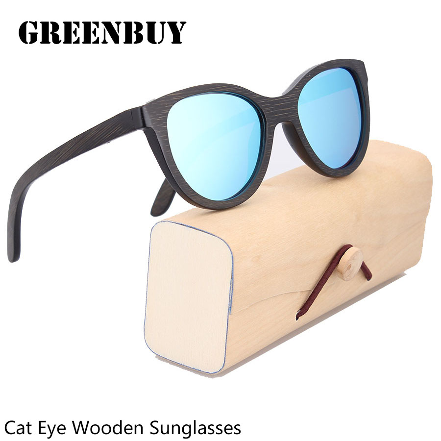 Free Engraving Logo Custom Bamboo Sunglasses Cat Eye Sun Glasses For Men Italy Design Sunglasses Polarized Glasses Eyewear Shade<br><br>Aliexpress