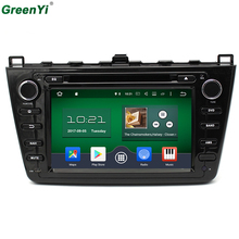 2GB RAM 1024*600 Quad Core Android 6.0 Car DVD Multimedia Player Fit For Mazda 6 Ruiyi Ultra 2008 2009 2010 2011 2012 GPS Radio(China)