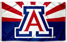 Arizona Wildcats AZ State Design Banner Large Outdoor Flag(China)